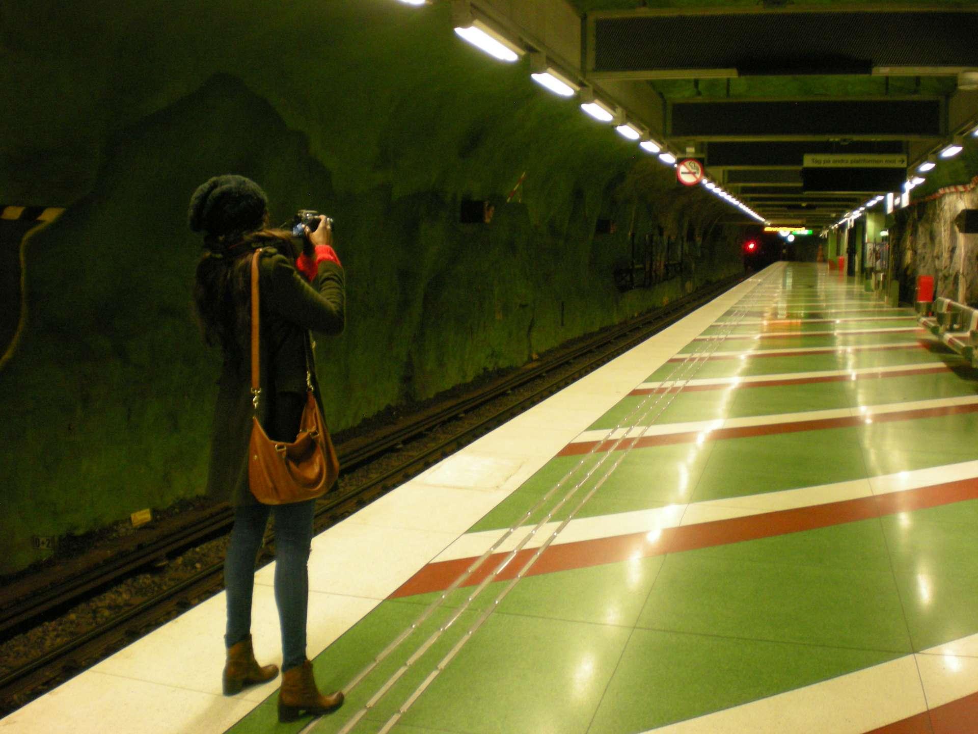 Subway in Stockholm