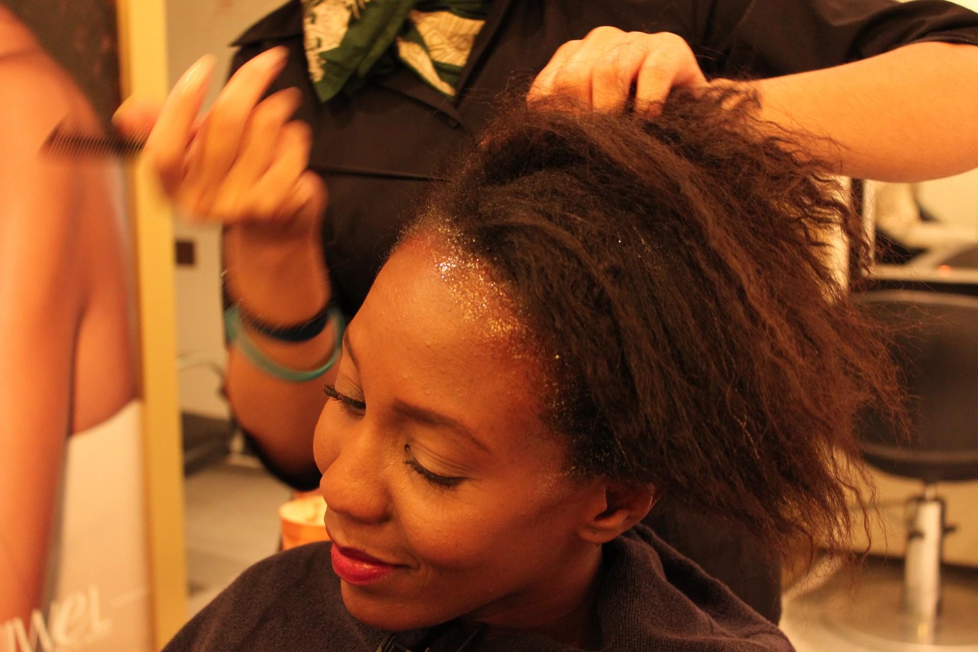 Protecting creme for relaxer Nunaavane Niwel hair salon